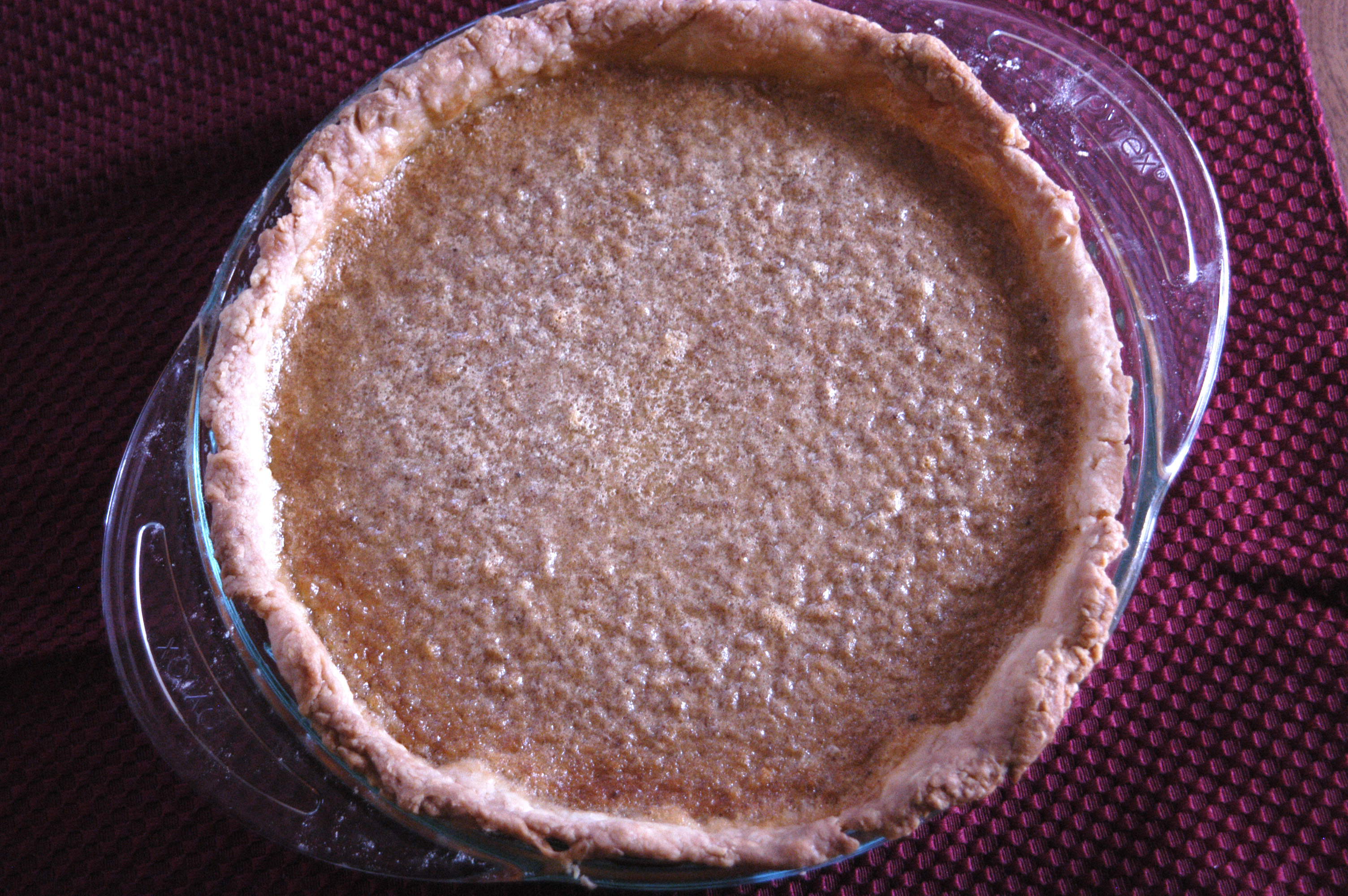 Brown Sugar Buttermilk Pie | Bashful Bao