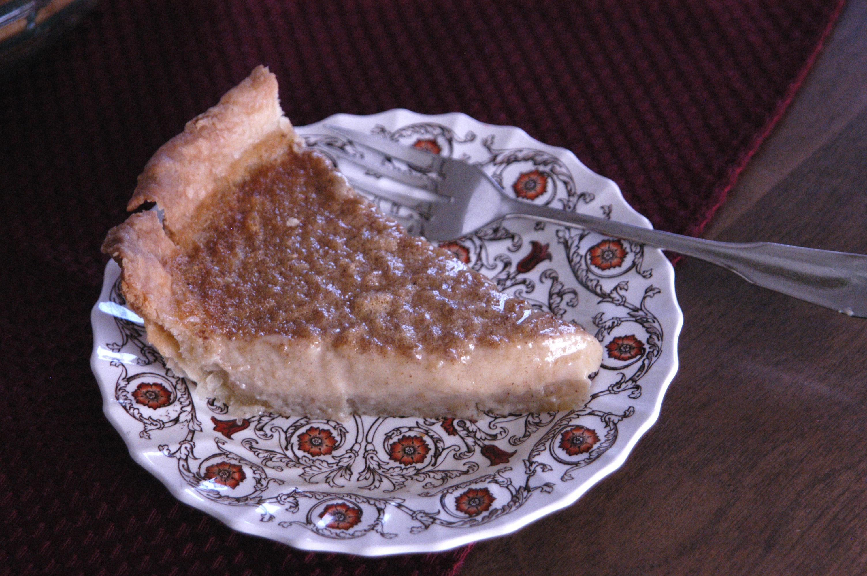 Brown Sugar Buttermilk Pie - Bashful Bao