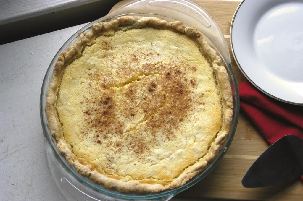 Pineapple Ricotta Pie - Bashful Bao